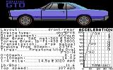 The Duel: Test Drive II Car Disk - The Muscle Cars Commodore 64 GTO.