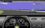 Test Drive II Scenery Disk: California Challenge Commodore 64 Mountains in the distance.