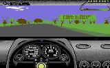 Test Drive II Scenery Disk: European Challenge Commodore 64 Starting level in Holland.