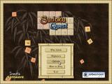 Sudoku Quest Windows This is the game's main screen. The number tiles are animated and cascade down the screen.
