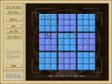 Sudoku Quest Windows The start of a game usingthe water style board.