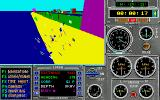 Heat Wave: Offshore Superboat Racing Amiga Crashed into the shore.