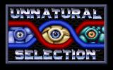 Unnatural Selection DOS Title Screen