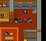 Dragon Warrior III Game Boy Color Our dream team in the castle.