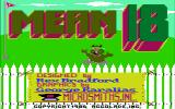 Mean 18 DOS Title Screen (CGA with Composite) (*This title must be correct color)
