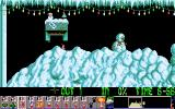 Holiday Lemmings DOS Holiday '93 - Flurry - Level 3