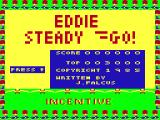 Eddie Steady Go! Dragon 32/64 Another title screen