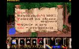 Karzeł DOS Game options