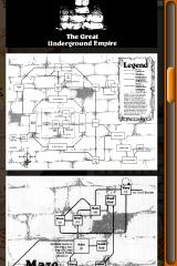 "Lost Treasures of Infocom iPhone Maps of game locations (don't look at that ""Maze"" one too closely!)"
