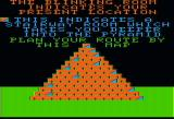 Lost Tomb Apple II This map proves helpful in the stairways