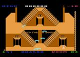 Lost Tomb Atari 8-bit These bats want to tangle in your hair