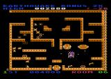 Lost Tomb Atari 8-bit Triggered an earthquake? the walls will shoot you down