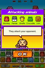 Zookeeper Battle Android Certain types of animal have different results.