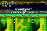 Sonic CD Android Stage clear