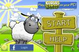 Clouds & Sheep Android Title screen