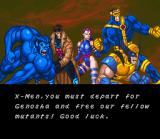 X-Men: Mutant Apocalypse SNES The X-Men and X-Girl