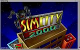 SimCity 2000 Amiga Title screen. (Hi Res AGA)