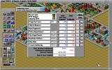 SimCity 2000 Amiga The annual budget. (Hi Res AGA)