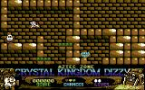 Crystal Kingdom Dizzy Commodore 64 The crystal is in view!