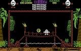 Treasure Island Dizzy Commodore 64 On a bridge.