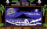 Treasure Island Dizzy Commodore 64 Splash Screen - Coming straight out of Codemasters...