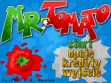 Mr. Tomato DOS Main menu
