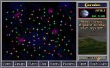 Master of Orion DOS Galaxy - many stars, many planets...