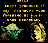 Star Wars: Yoda Stories Game Boy Color Intro