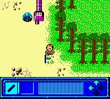 "Star Wars: Yoda Stories Game Boy Color Near the ""forest""."