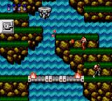Contra NES Nice waterfall.