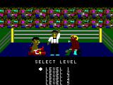 Champion Boxing SG-1000 Select the level of difficulty