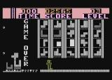 Highrise Atari 8-bit Game over