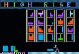 Highrise Apple II Title screen