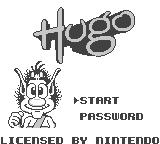The Bugs Bunny Crazy Castle 2 Game Boy European title screen