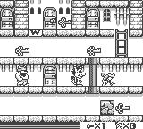 The Bugs Bunny Crazy Castle 2 Game Boy Hugo on the stage.