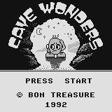 Cave Wonders Supervision Title screen.