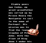 Uncharted Waters NES The story of a family in the 16th century