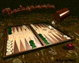 Backgammon Amiga Title screen
