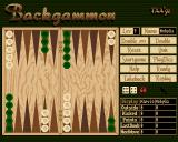 Backgammon Amiga The playing screen