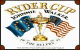 Ryder Cup: Johnnie Walker DOS Title screen