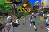 Jet Grind Radio Android Running from the neo-police!