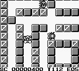 Battle Bull Game Boy Exploring the first level.