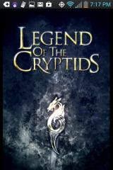 Legend of the Cryptids Android Title screen