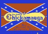 The Battle of Chickamauga Atari 8-bit Title screen