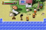 Dragon Ball Z: The Legacy of Goku Game Boy Advance DBZ characters