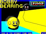 Bobby Bearing ZX Spectrum Title screen