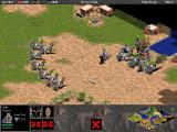 Age of Empires (Demo Version) Windows Who needs catapults when you have these guys? Chariot archers outrange enemy sentry towers, and chariots are quire well armoured.