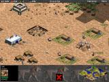Age of Empires (Demo Version) Windows Farmlands are essential to support the economy.