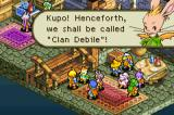 Final Fantasy Tactics Advance Game Boy Advance Great clan...
