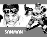 Fighters Megamix Game.Com Sanman in Intro